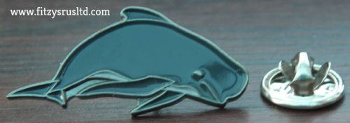 Pilot Whale Lapel Pin Badge